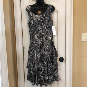 Robbye Bee Fun Frilly Dress  NWT Size 10